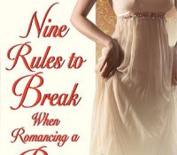 Throwback Thursday Review: Nine Rules to Break When Romancing a Rake by Sarah MacLean
