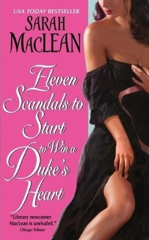 Throwback Thursday Review: Eleven Scandals to Start to Win a Duke's Heart by Sarah McLean