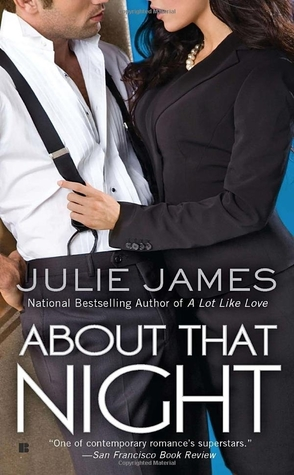 Review: About That Night by Julie James