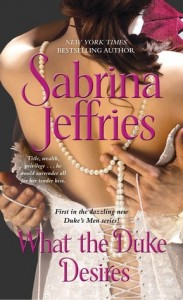 Guest Review: What the Duke Desires by Sabrina Jeffries