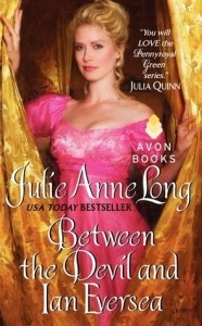 Guest Review: Between the Devil and Ian Eversea by Julie Anne Long