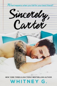 Review: Sincerely, Carter by Whitney Gracia-Williams