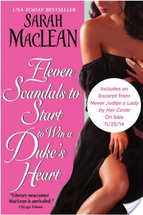 Review: Eleven Scandals to Start to Win a Duke's Heart by Sarah McLean