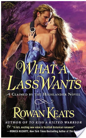 Guest Review: What a Lass Wants by Rowan Keats