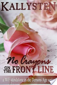 Guest Review: No Crayons on the Front Line by Kallysten