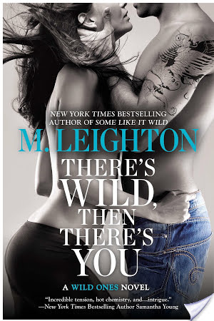Review: There's Wild, Then There's You by M. Leighton