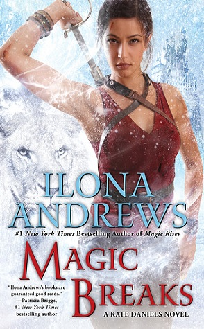 Joint Review: Magic Breaks by Ilona Andrews