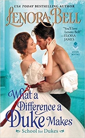 Guest Review: What a Difference a Duke Makes by Lenora Bell