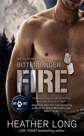 Guest Review: Bitten Under Fire by Heather Long