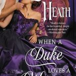When a Duke Loves a Woman by Lorraine Heath book cover