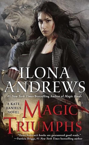 Blog Tour: Magic Triumphs by Ilona Andrews (+ Magic Bleeds Giveaway)