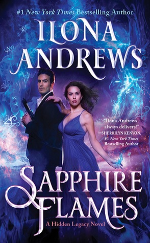 Joint Review: Sapphire Flames by Ilona Andrews