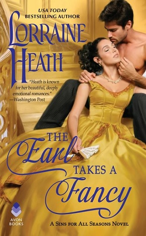The Earl Takes a Fancy by Lorraine Heath book cover
