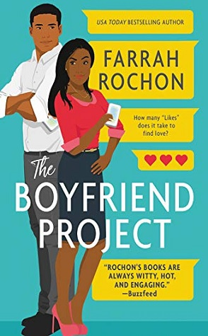 The Boyfriend Project by Farrah Rochon Book Cover