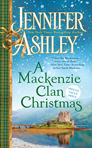 a mackenzie clan christmas by jennifer ashley book cover