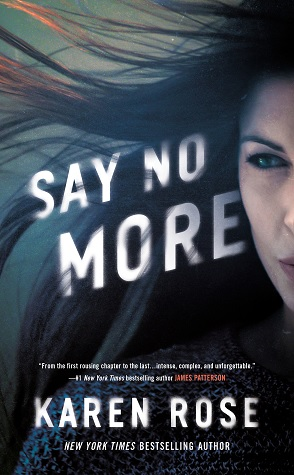 Say No More by Karen Rose Book Cover