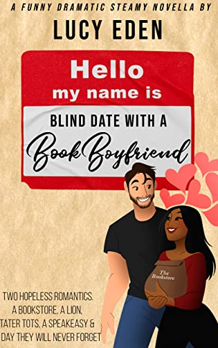 Guest Lightning Review: Blind Date with a Book Boyfriend by Lucy Eden