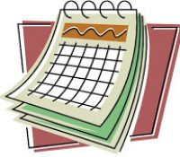 Schedule of Events.