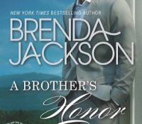 Guest Review: A Brother's Honor by Brenda Jackson