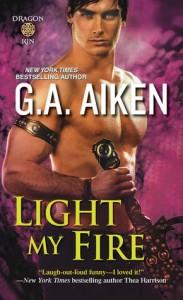Guest Review: Light My Fire by G.A. Aiken