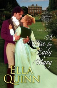 Guest Review: A Kiss for Lady Mary by Ella Quinn