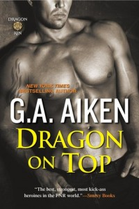 Guest Review: Dragon on Top by G.A. Aiken