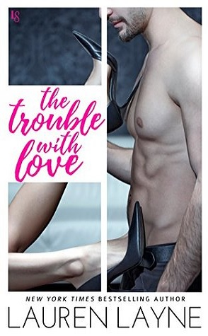Shirtless Man holding a woman's leg with a black stiletto up