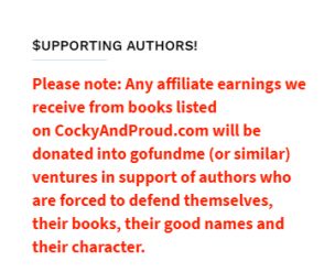 Notice from cockyandproud.com