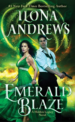 Emerald Blaze by Ilona Andrews Book Cover