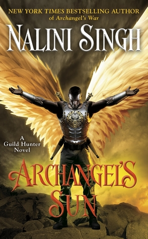 Archangel's Sun by Nalini Singh Book Cover